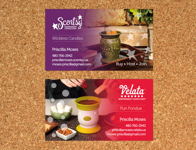 Scentsy Blank Business Cards Related Keywords Scentsy